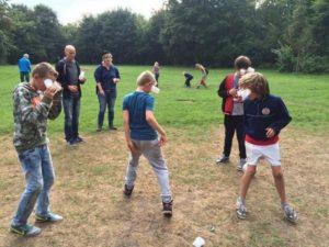 olifantenvoetbal bij voetbal entertainment
